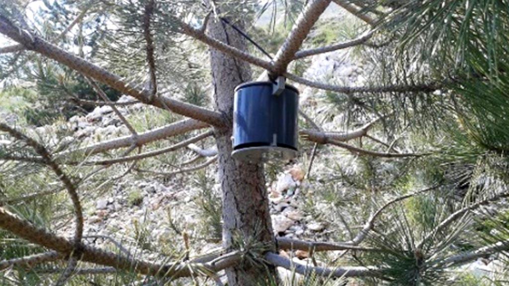 Pasivni mjerač u Parku prirode Blidinje